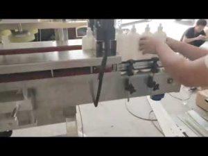 máquina de tapado de carcasa de pvc rotativa automática para la venta