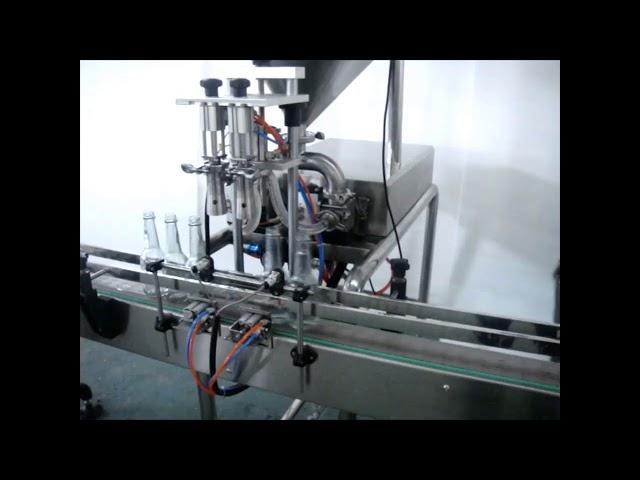máquina automática de llenado de lavado de manos doble líquido para la venta