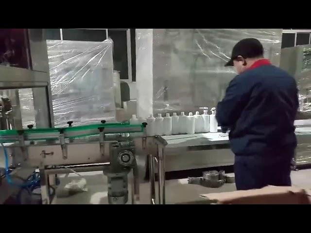 máquina de línea de embotellado de gel de gel de jabón de manos