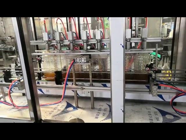 máquina automática de llenado de aceite de motor