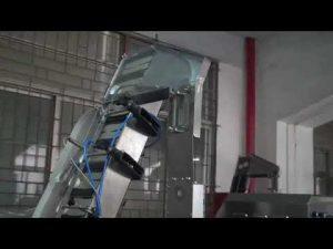 máquina de taponado de botellas servo rotativa completamente automática para tapón de rosca de plástico