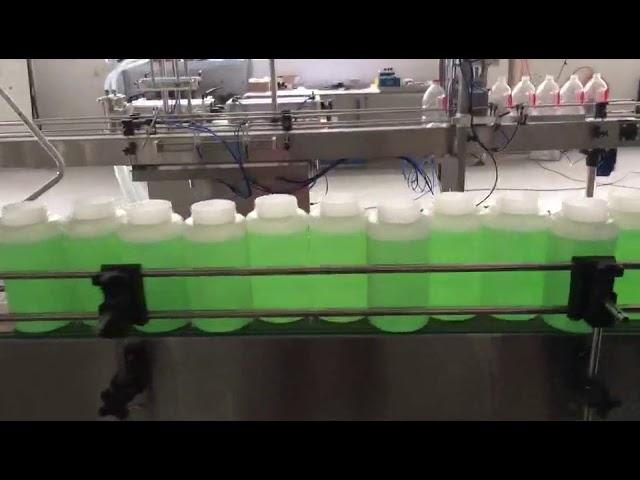 máquina automática de blanqueo de llenado