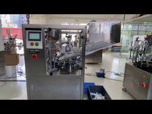 Máquina automática de llenado y sellado de tubos de plástico para pasta de dientes con crema de manos