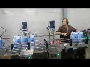 línea automática de la máquina de llenado de blanqueador líquido desinfectante desinfectante anticorrosivo