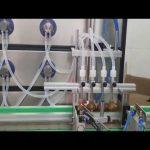 Auto 10ml 30ml 60ml 100ml botella máquina de llenado cosmética para líquidos
