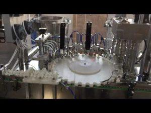 taponadora rotativa de alta precisión para la industria alimentaria, de salsas y cosmética