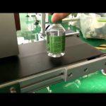 máquina de etiquetado de etiquetas de escritorio para botellas de agua de plástico