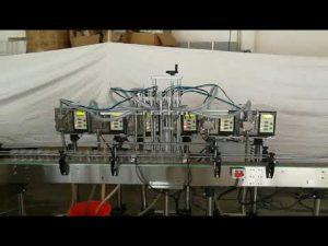 pequeña bomba de engranajes automática botella de jabón líquido máquina de llenado precio