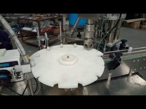Venta caliente completa automática 10 ml 20 ml 25 ml tubos de ensayo de llenado tapado máquina de envasado
