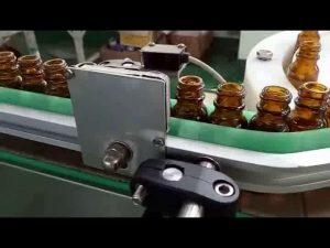 máquina de cigarrillos eléctrica llenadora de cartuchos única, máquina de llenado de botellas de jugo e