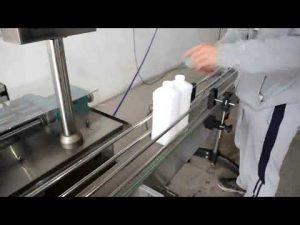 máquina de llenado y embotellado de aceite de motor de pistón automático económico