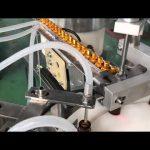 cuentagotas automática de vidrio de 5-30 ml frasco pequeño colirio vial e máquina de llenado y llenado de líquidos