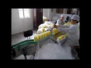 máquina automática de llenado de desinfectante para manos con jabón líquido de pistón automático