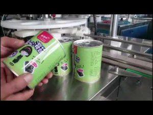 Llenadora de botellas de líquido cosmético completamente automática con taponadora