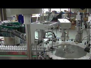 máquina de tapado de tapa de bomba de gatillo pequeño modelo de placa giratoria para la venta