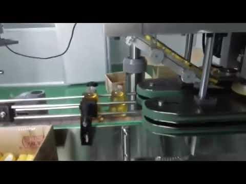 máquina de llenado de aceite de motor completamente automática de tipo lineal