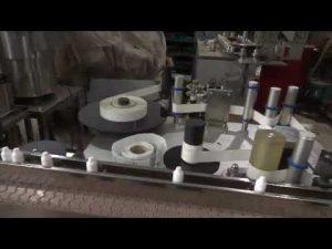 máquina automática de llenado y lavado de botellas gotas para los ojos línea de producción de llenado
