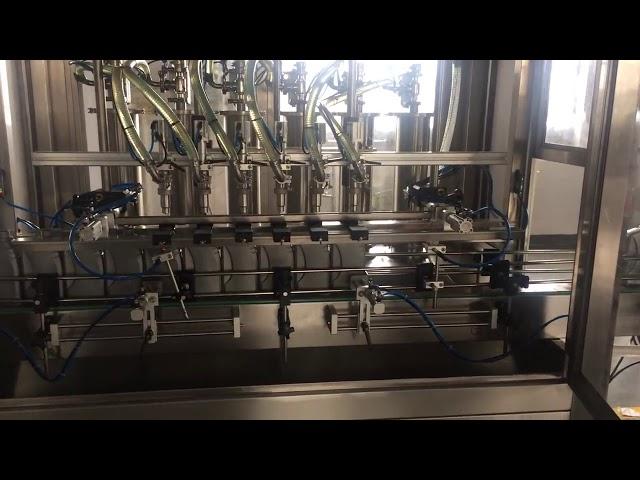 máquina de llenado de llenado de botellas de lubricación de aceite de motor de alta precisión 5l