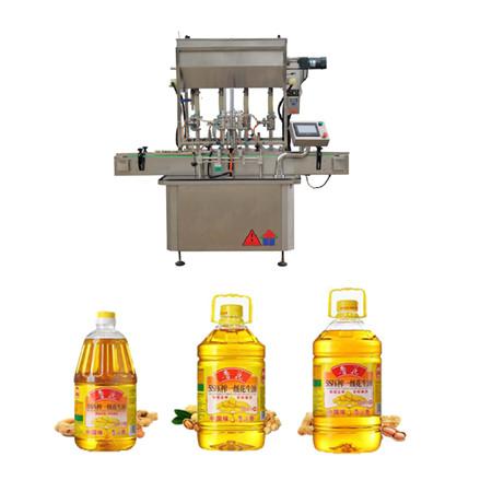 máquina automática de llenado de aceite rotativo