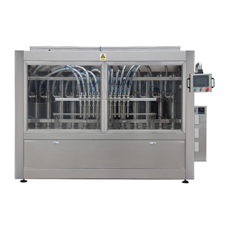 Máquina de llenado de desinfección de manos