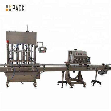 Máquina de llenado de gel desinfectante