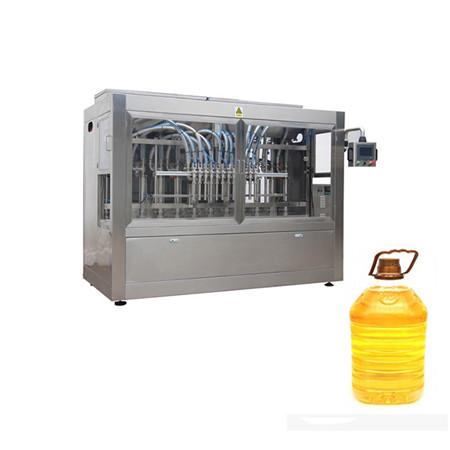 llenado automático de aceite comestible