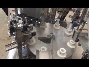 máquina automática de pasta de plástico blando, ungüento, pasta de dientes, máquina de sellado de llenado de tubos