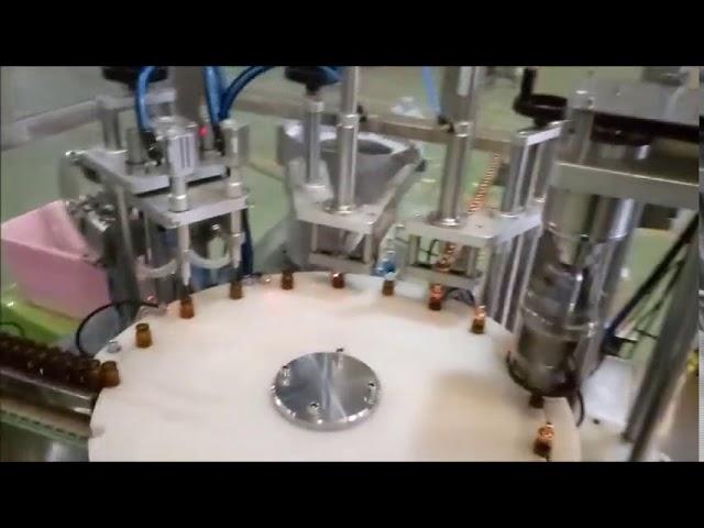 Máquina automática de llenado y llenado de botellas de 10 ml de líquido e