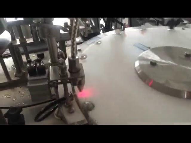 Máquina automática de llenado de botellas de esmalte de uñas de 30-50 lpm