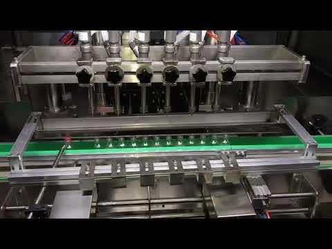 máquina automática de llenado de gel desinfectante de alcohol para la industria química diaria