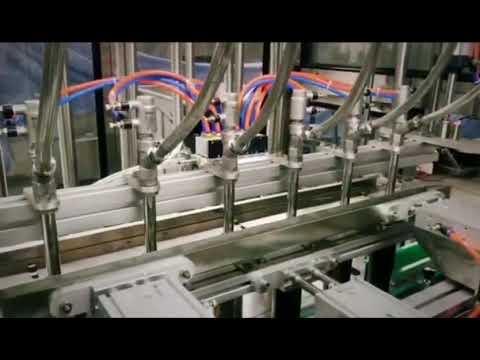 máquina automática de envasado de líquido viscoso de detergente lineal, champú, aceite lubricante