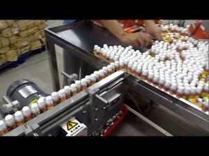 Máquina de llenado de perfume automática con vacío rotativo de 10 cabezas