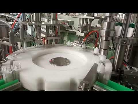 máquina de tapado de llenado de botellas de líquido e herbáceo de alta calidad de 30 ml