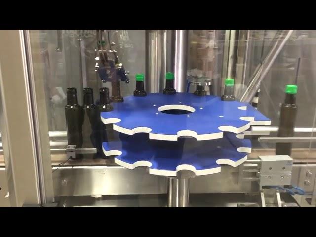 Máquina de sellado automático de tapa de rosca de aluminio ropp para botella de vidrio