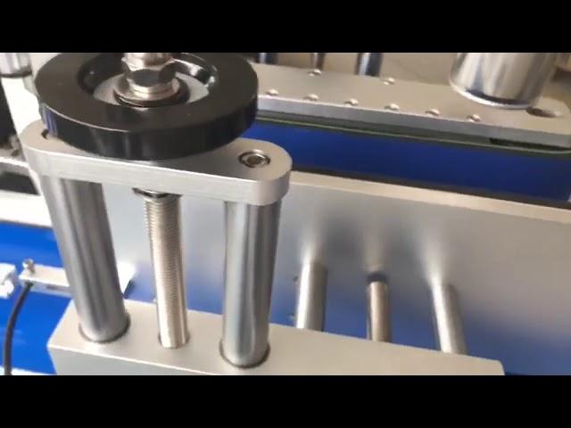 Máquina de etiquetado de botella redonda automática de etiquetado de doble cara