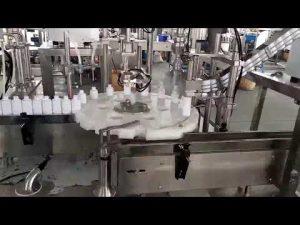 Máquina de tapado de botellas de plástico médico de cosméticos