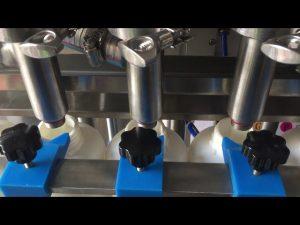 precio de la máquina llenadora de botellas de líquido de champú de pistón automático completo