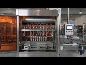 máquina llenadora automática de servos de salsa de tomate