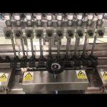 máquina de llenado lineal de crema alcohólica líquida, tarro de miel pequeña botella de llenado de aceite