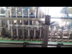 máquina automática de sellado de llenado de yogur de tarro de miel de vidrio
