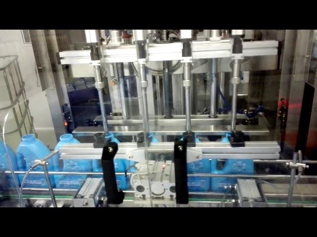 Máquina automática de llenado de desinfectante para manos con jabón líquido para lavado a mano de 100-1000 ml