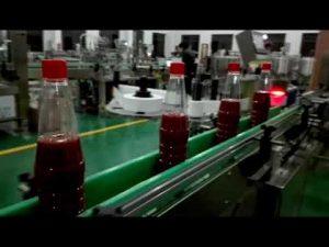 máquina de llenado de botellas completamente automática de alta velocidad para salsa de tomate, mermelada, salsa