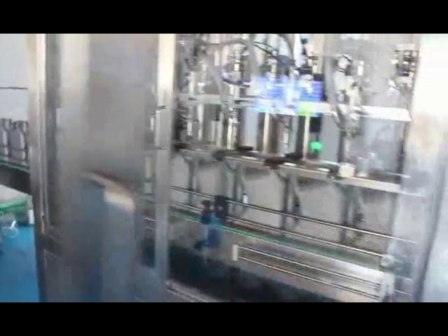 máquina de llenado de aceite de coche, máquina de llenado de aceite lubricante de motor completo