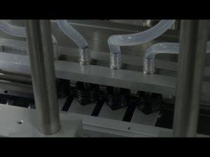 10ml-5l 6 cabezales de escritorio automático máquina de llenado de líquidos precisa