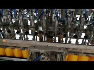 Máquina automática de llenado de botellas de 12 cabezas para cosméticos de salsa de aceites de salsa de tomate
