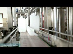 máquina de etiquetado de llenado y llenado de aceite lubricante completamente automática
