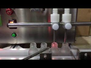Mini tamaño de sobremesa automático pequeño vial aceite esencial máquina de llenado de líquidos para la venta