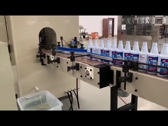 anti corrosión ácido clorhídrico pp pvc máquina de llenado de plástico