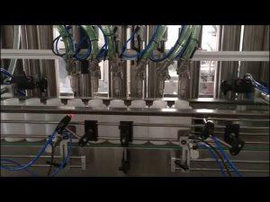 máquina automática de llenado de desinfectante para manos