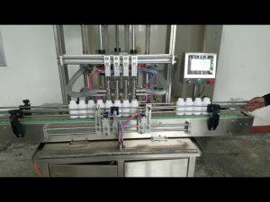 Máquina automática de llenado de botellas de pasta líquida viscosa para jabón líquido, loción corporal, champú